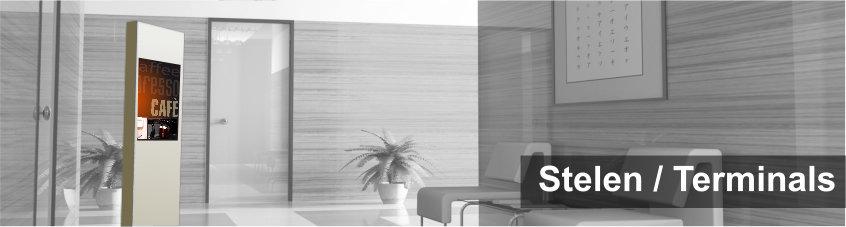 Digitaler Portier / Stele / digitale Empfangsdame