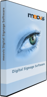 Digital Signage Software meovis DVD